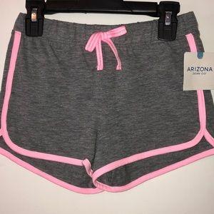 NWT Arizona Jean size Sm (7/8) reg grey/pink